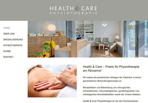 Health and Care Physiotherapie am Römerhof in Zürich